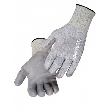 Gants SINGER PEHD - Protection coupure - Paume enduite polyuréthane - Taille 09 - PHD135PU09