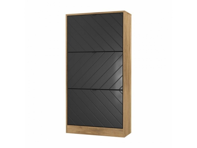 Meuble chaussure ZONS - 60*24*115 cm - 2612