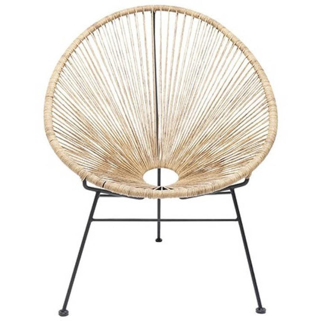 Fauteuil Mexico - effet rotin naturel (ZONS)